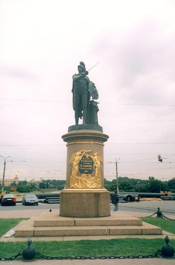 Памятник А.В.Суворову в Санкт-Петербурге